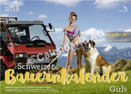 Calendrier 2018 des Alpines Girls