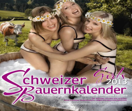 Calendrier sexy paysan 2013