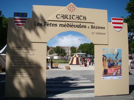 ''CARITATS '' fêtes Médiévales