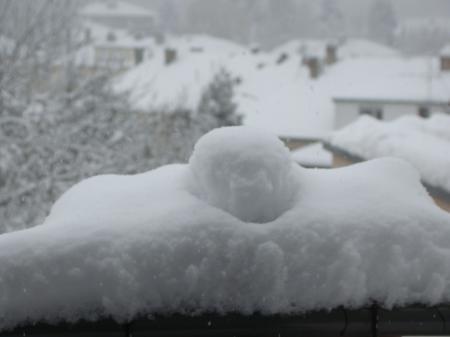 ''Neige en Moselle et dans l'est ''