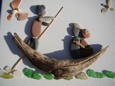 Oeuvres et passion par M.Jo en relation et à la nature
